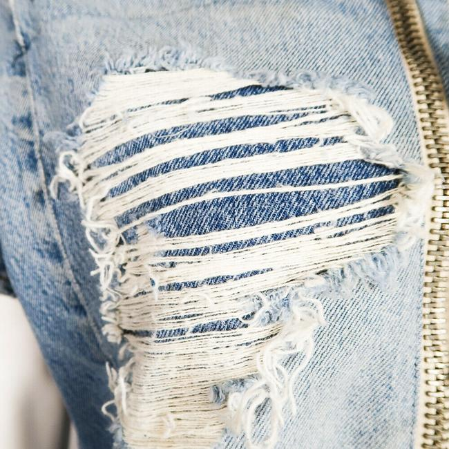 Greg Lauren Womens Jean Jacket Image 2