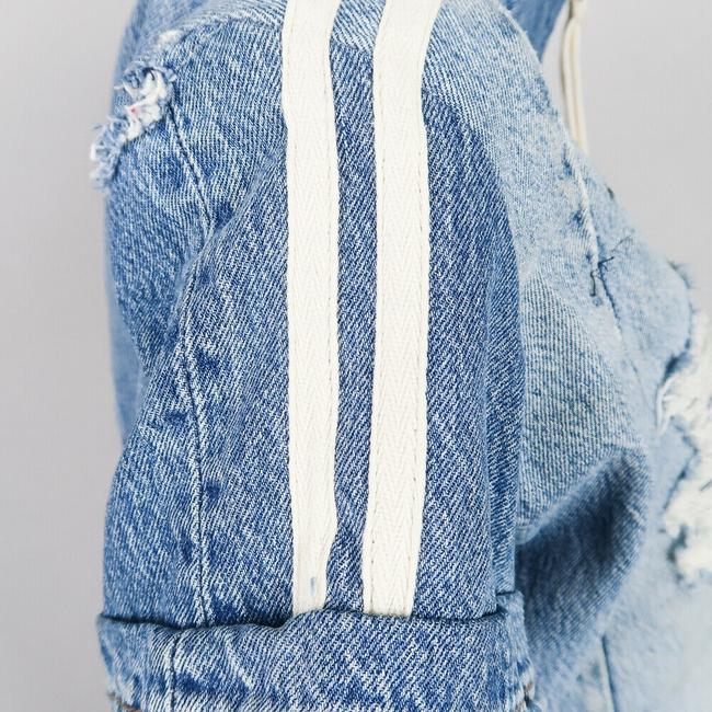 Greg Lauren Womens Jean Jacket Image 3