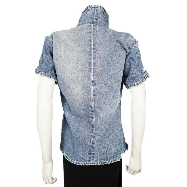 Greg Lauren Womens Jean Jacket Image 6