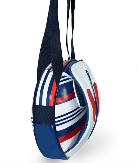 idawen Yoga Gym Sporty Vegan Tote in red white and blue Image 3