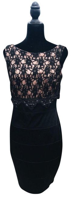 Preload https://img-static.tradesy.com/item/25500988/black-with-tags-mid-length-cocktail-dress-size-6-s-0-1-650-650.jpg