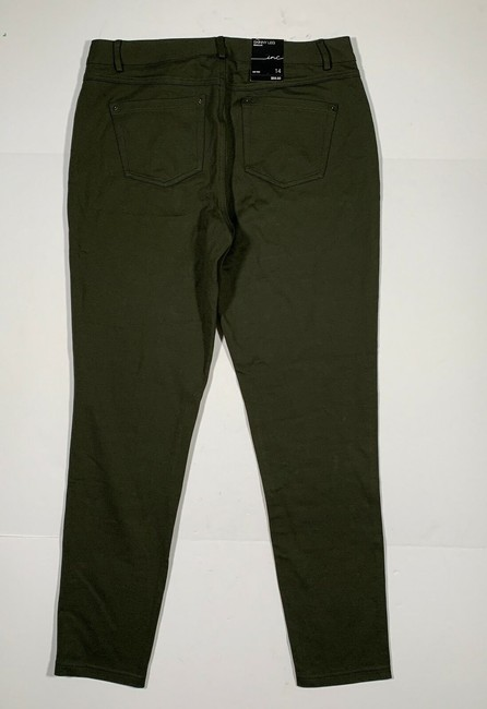 INC International Concepts Nylon Skinny Jeans Image 1