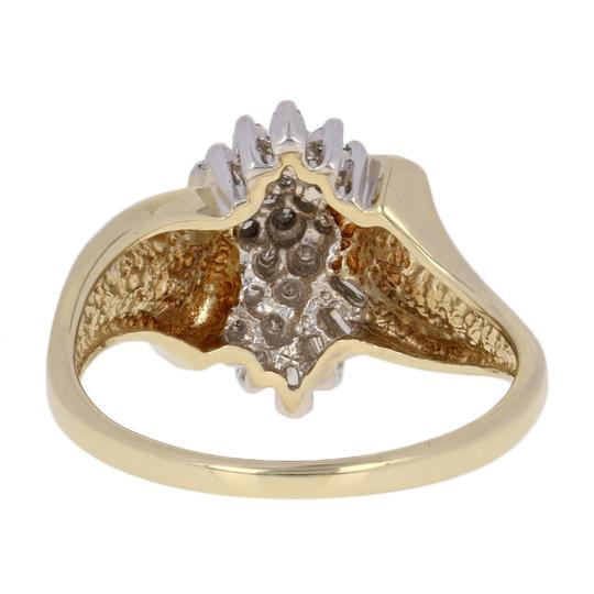 Other .16ctw Single & Baguette Cut Diamond Ring - 10k Yellow Gold E3819 Image 4
