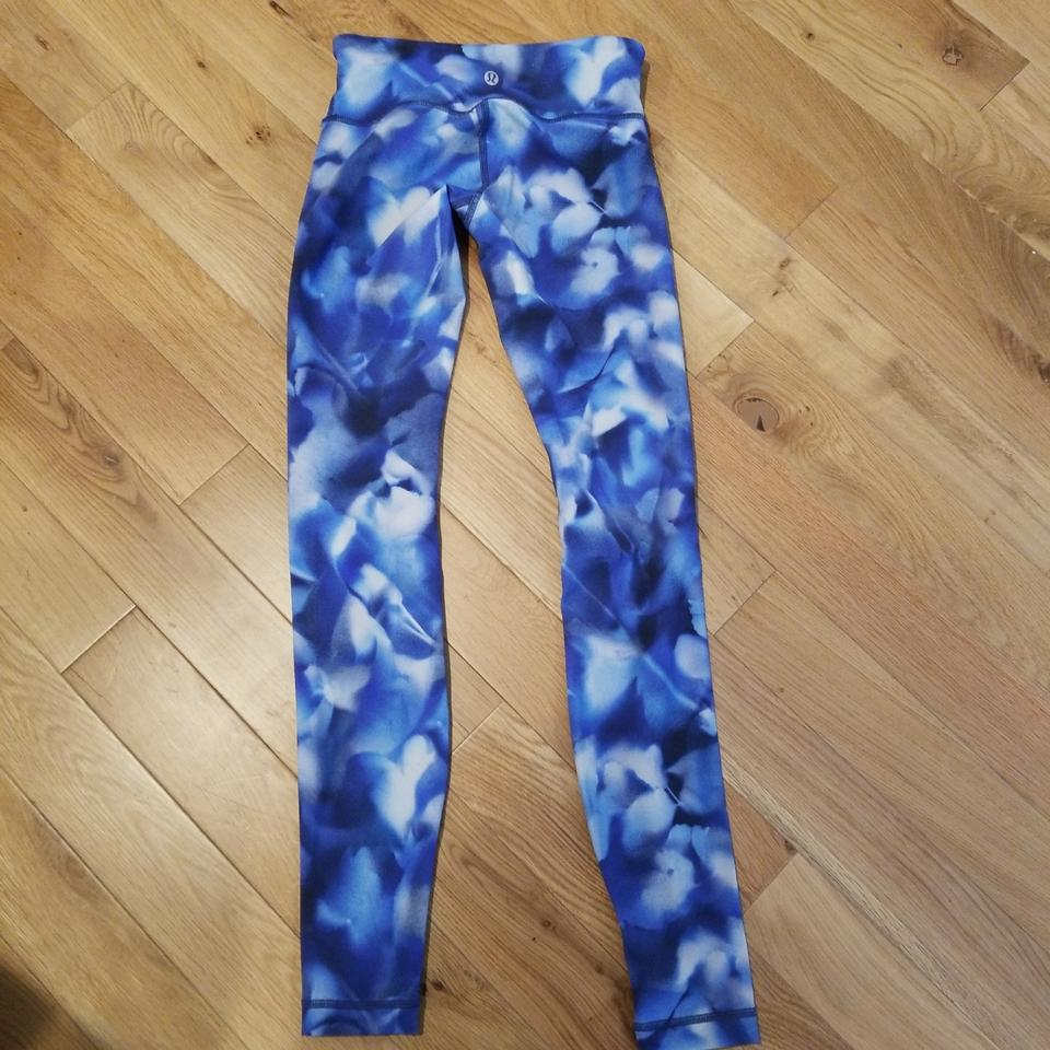 a14ba5595b Lululemon Lululemon Blue Hues Wunder Under LR Leggings Image 7. 12345678