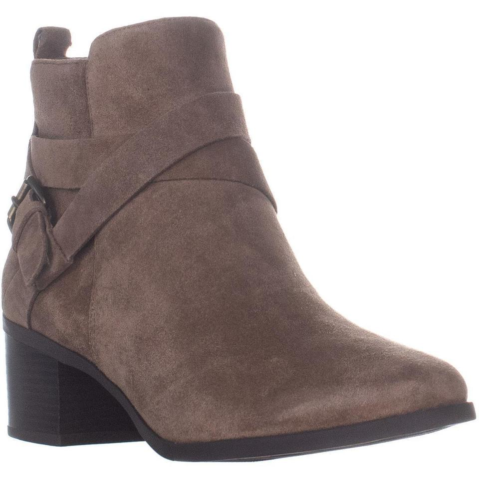 special section sold worldwide buy best Anne Klein Brown Javen Block Heel Ankle Chestnut Boots/Booties Size US 9  Regular (M, B) 34% off retail