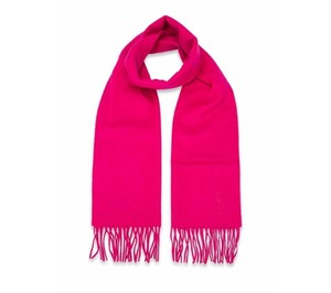 Saint Laurent Rose Yves Color Wool Women's Winter Scarf/Wrap