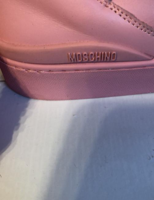 Moschino Pink Top Sneakers Size US 9 Regular (M, B) Moschino Pink Top Sneakers Size US 9 Regular (M, B) Image 7