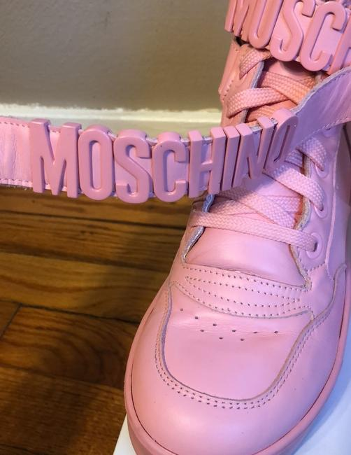 Moschino Pink Top Sneakers Size US 9 Regular (M, B) Moschino Pink Top Sneakers Size US 9 Regular (M, B) Image 8