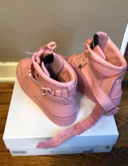 Moschino Pink Top Sneakers Size US 9 Regular (M, B) Moschino Pink Top Sneakers Size US 9 Regular (M, B) Image 10