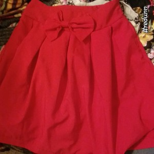 Choies short dress This is a cranberry red on Tradesy