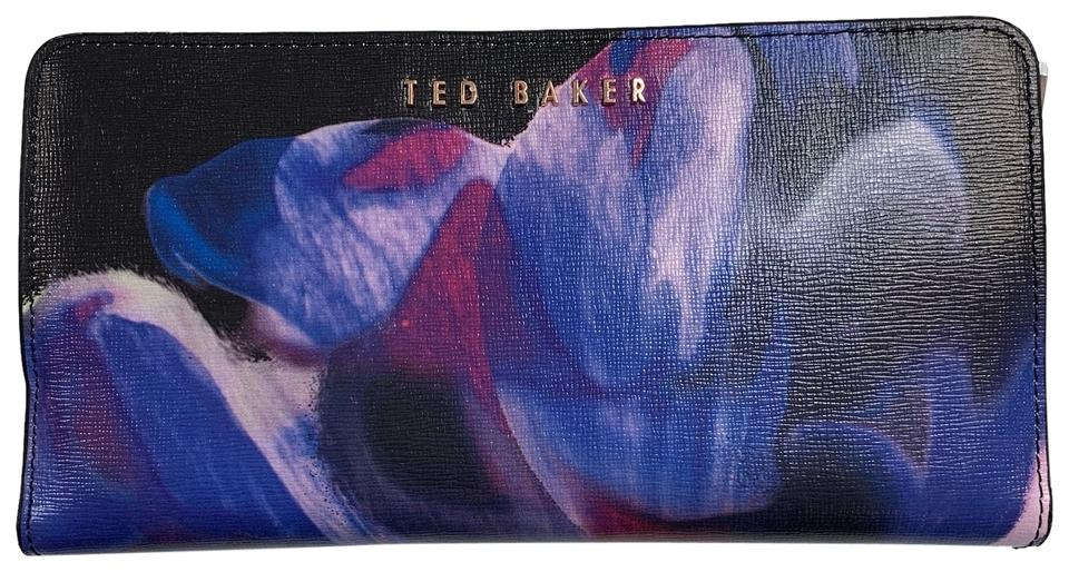 Leather Retail Off Matinee 43 Cosmic Baker Wallet Black multi Ted Bloom