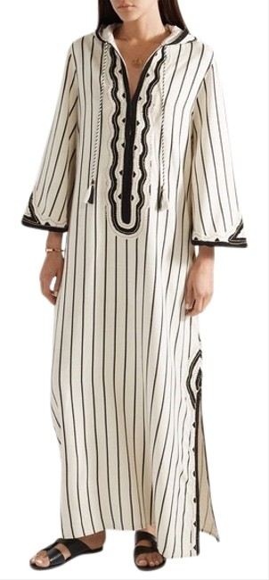 Preload https://img-static.tradesy.com/item/25502160/tory-burch-ivory-embroidered-savonna-striped-canvas-hooded-caftan-cover-upsarong-size-8-m-0-2-650-650.jpg