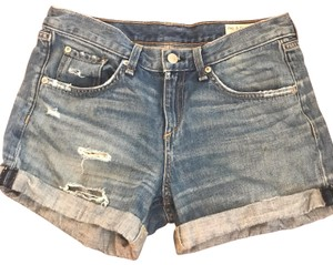 Rag & Bone Denim Shorts-Medium Wash