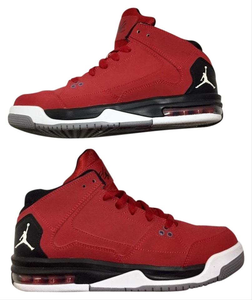 shop for genuine quality first highly coveted range of Red Jordan Flight Sneakers