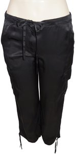 Theory Capri/Cropped Pants Black