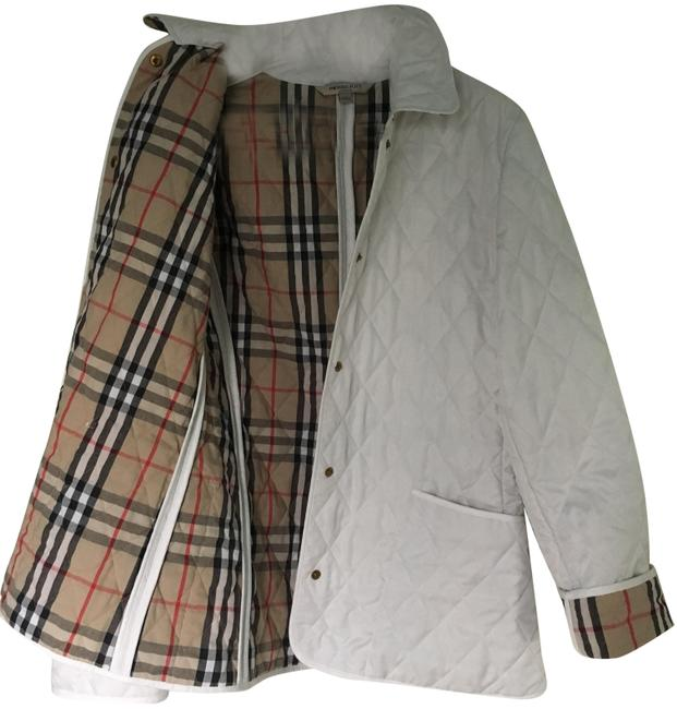 Item - White London Classic Quilted Coat Jacket Size 4 (S)