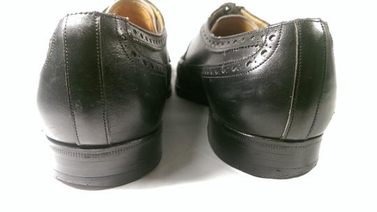 Brooks Brothers Black Leather Men's Wingtip Brogue Classic 8.5m Shoes Image 7