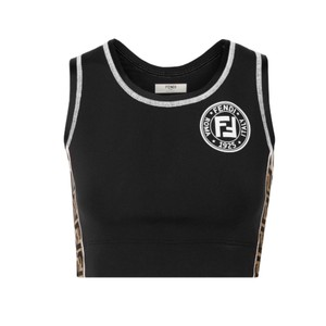 Fendi cutout logo strap stretch sport bar