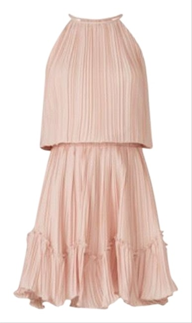 Item - Rose Heritage Pleated Flounce Short Cocktail Dress Size 4 (S)