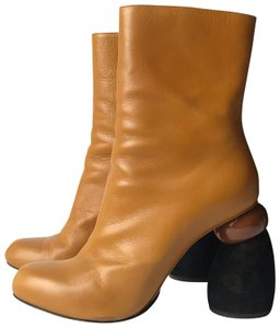 Dries van Noten camel/black Boots