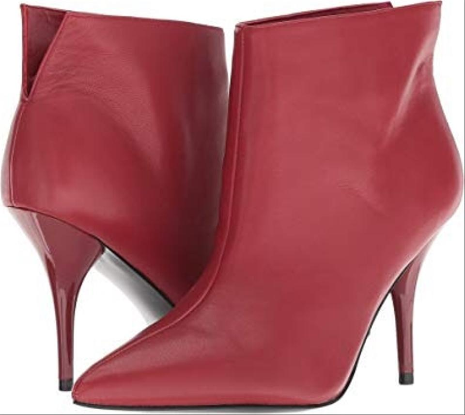 fe6c91002b3ca Marc Fisher Dark Red Ltd Fenet Leather Boots/Booties Size US 8.5 ...