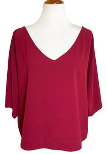 cupcakes and cashmere Top red