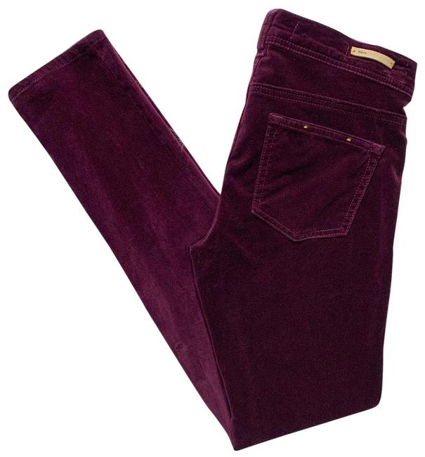 Item - Purple Velvet Wine Stet Fit Pants Size 2 (XS, 26)