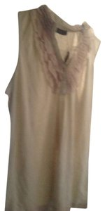 The Limited . . Sleevelesss New With Tags Free Shipping Top Beige