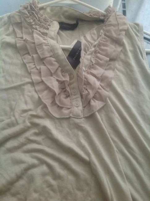 The Limited Sleeveless Soft Look With Tags Great Fit Top Beige