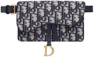 Dior Top Handle Tote Graffiti Cabata blue Clutch