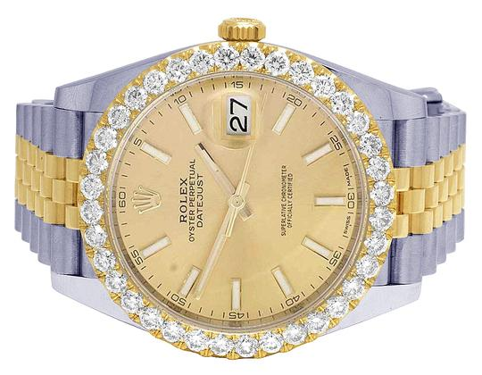 Rolex Datejust Il 41MM 126333 18K/ Steel Champagne Dial Diamond 4.5 Ct Image 1