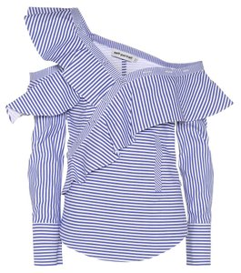 10943b4efab4 Blue self-portrait Tops - Up to 70% off a Tradesy