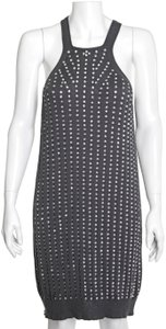 Stella McCartney short dress Charcoal Gray Sequins Sequined Tank on Tradesy