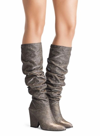 Stuart Weitzman gold and silver Boots Image 1