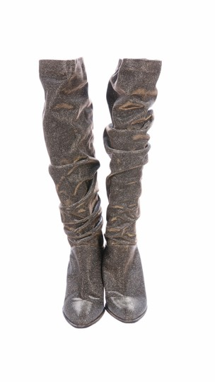 Stuart Weitzman gold and silver Boots Image 2