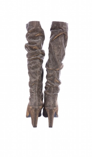 Stuart Weitzman gold and silver Boots Image 3