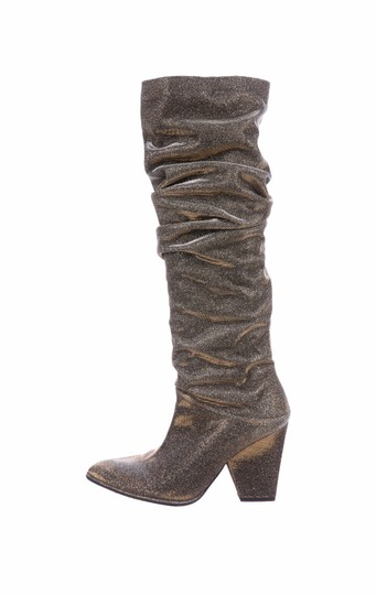 Stuart Weitzman gold and silver Boots Image 4