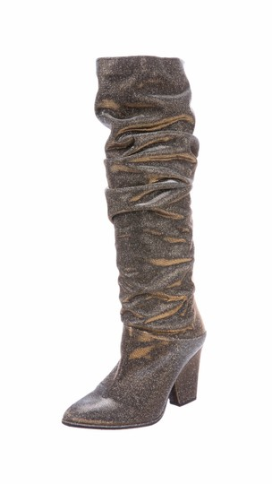 Stuart Weitzman gold and silver Boots Image 5