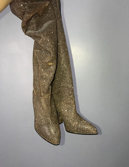 Stuart Weitzman gold and silver Boots Image 8