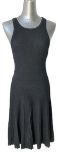 Abercrombie & Fitch short dress Black Racer Knit Ribbed on Tradesy