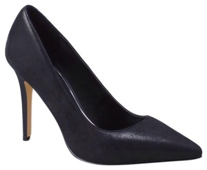 White House | Black Market Leather Heels Classic Sophisticated New Black Pumps