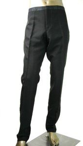 Gucci Black Wool/Mohair Signoria Tuxedo Pant It 58 R / Us 42 371278 Groomsman Gift