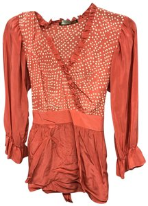 BCBGMAXAZRIA T Shirt Orange
