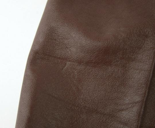 Prada Burgundy Men's Leather Pants Eu 48 R / Us 32 Upp190 Groomsman Gift Image 11