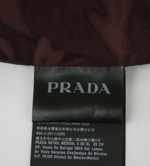 Prada Burgundy Men's Leather Pants Eu 48 R / Us 32 Upp190 Groomsman Gift Image 9