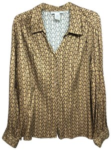 Sag Harbor Button Down Shirt BROWN