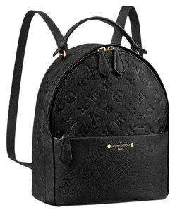 Louis Vuitton Monogram Girl Lv Leather Backpack