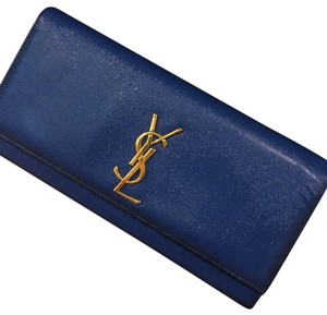 Saint Laurent Blue Clutch