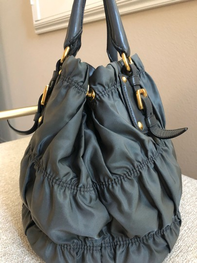 Prada Tote in Gray Image 5