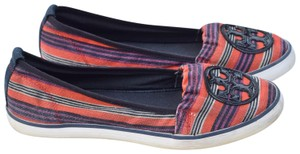 Tory Burch red,blue,red orange Flats
